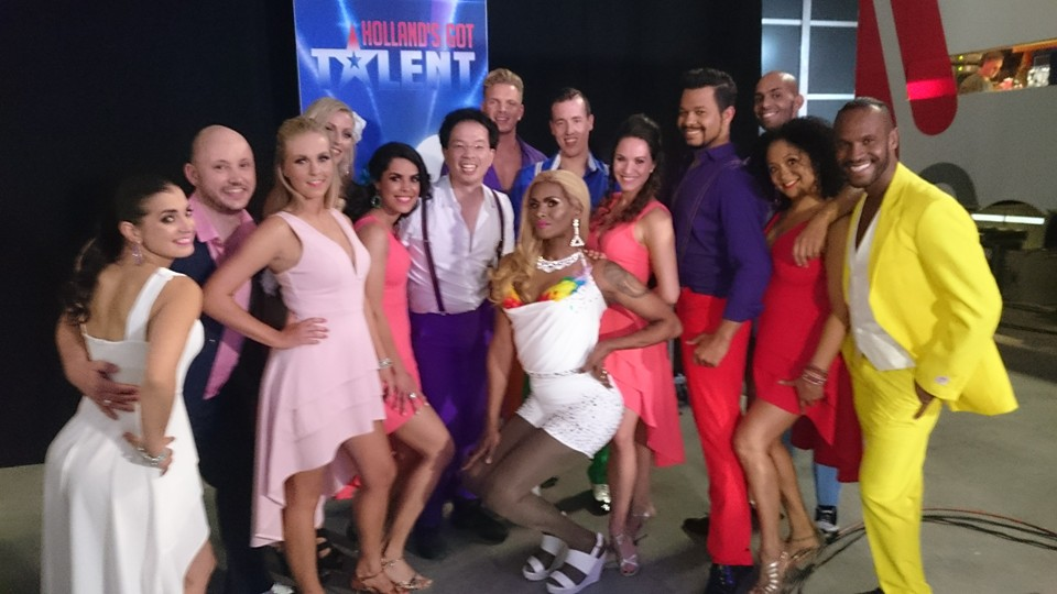 Salsachun in samenwerking met Holland's Got Talent